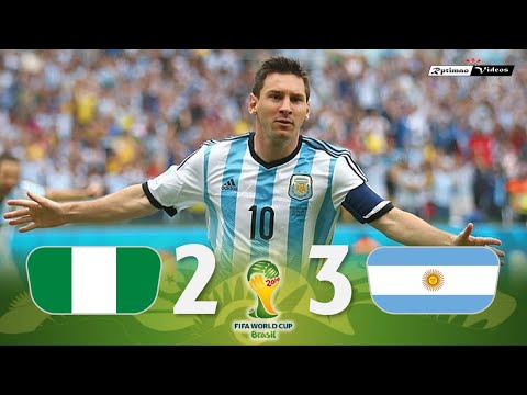 Nigeria 2 x 3 Argentina ● 2014 World Cup Extended Goals & Highlights HD