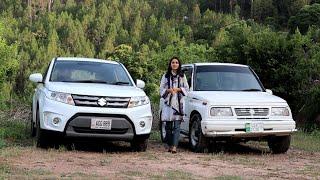 Suzuki Vitara 2018 vs Vitara 1988 | Review On & Off-road Comparison Price in Pakistan