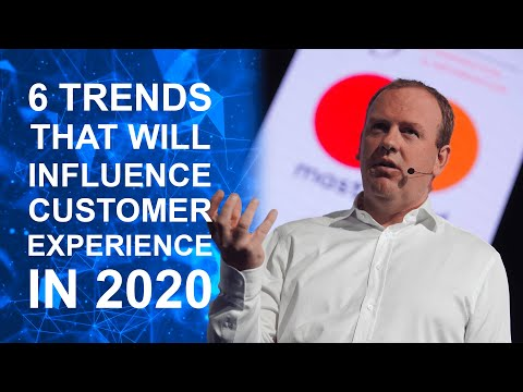 6 trends that will shape customer experience in 2020 / by keynote speaker Steven Van Belleghem