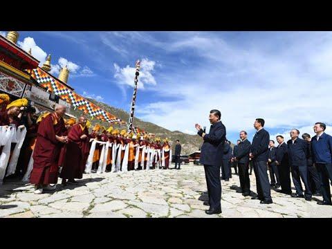 """CGTN: China promete """"estabilidade duradoura, desenvolvimento de alta qualidade"""" na Região Autônoma do Tibete"""