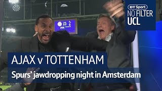 Spurs complete jawdropping comeback with final kick  | No Filter UCL: Ajax vs Tottenham