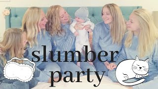 Baby's First Sleepover *too cute* | Teen Mom Vlog