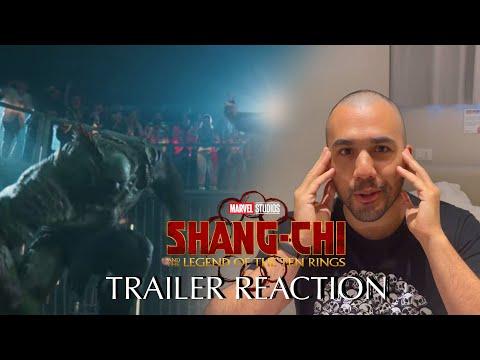 Shang-Chi e la Leggenda dei Dieci Anelli TRAILER REACTION - Cosa STA SUCCEDENDO??? 😱😱