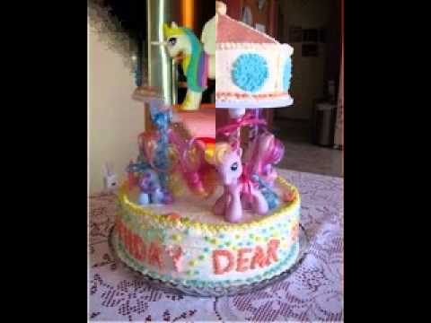 My Little Pony Birthday Cake Decorating Ideas