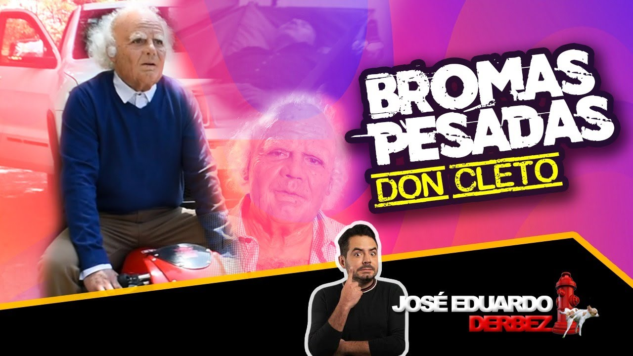 ¡BROMA A REPARTIDORES DE COMIDA! | ¡DON CLETO Y JOSÉ EDUARDO DERBEZ!