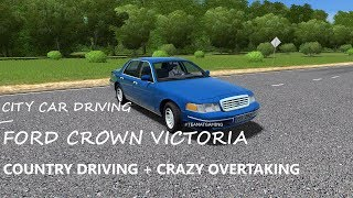 Ford Crown Victoria | Test Drive | City Car Driving