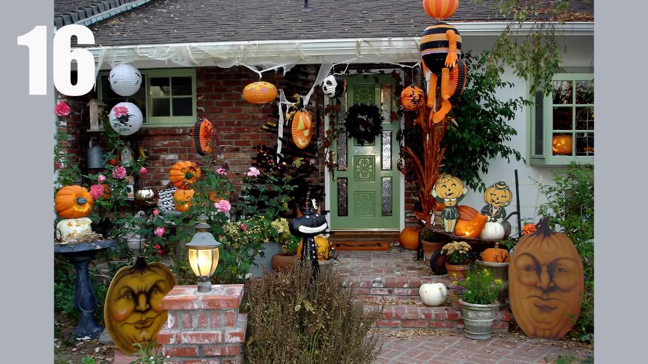 20 Ideen Fur Die Dekoration Halloween Haus Youtube