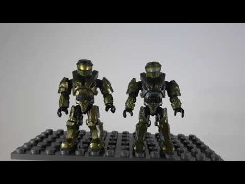Halo Mega Series 10 Master Chief and Didact review