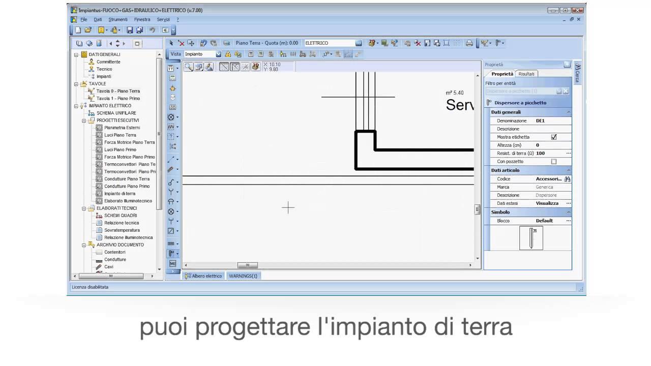 Schemi Elettrici Free : Software progettazione impianti elettrici impiantus elettrico