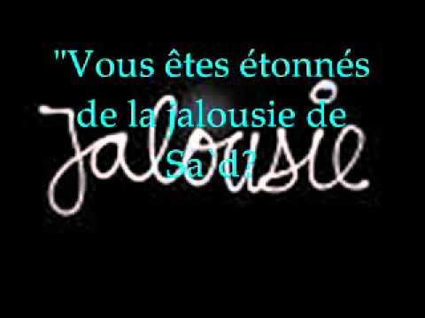 Hadith sur la jalousie - YouTube