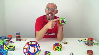 Cool maths with Magformers - #1 Platonic solids