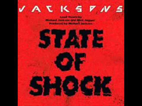 MICHAEL JACKSON, MICK JAGGER, & THE JACKSONS - State Of Shock