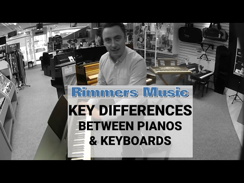The Key Differences Between Pianos & Keyboards