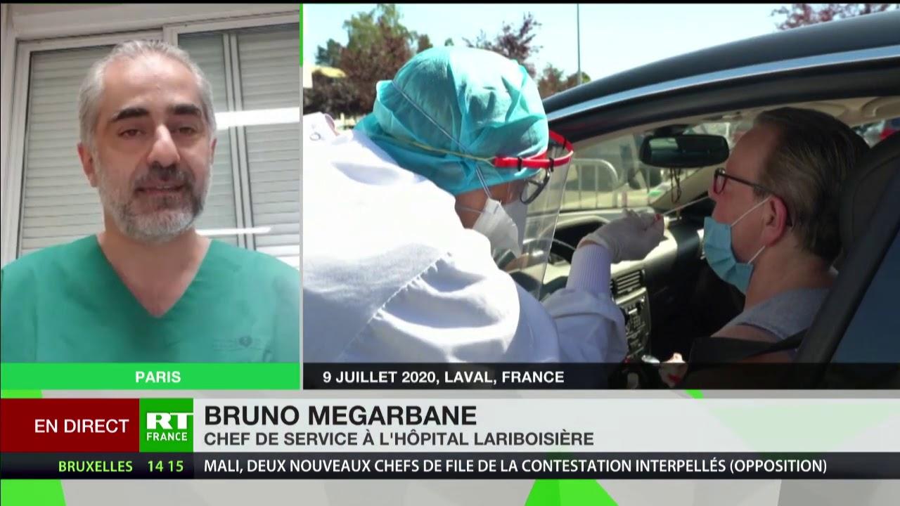 Masques obligatoires : «En septembre, il sera trop tard», estime Bruno Megarbane