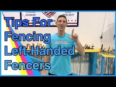 Tips For Fencing Left-Handed Fencers