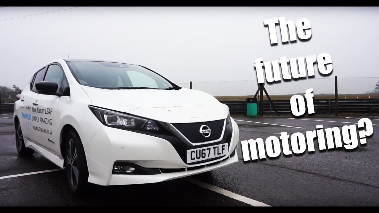 All New 2018 Nissan Leaf Full Electric Car Review
