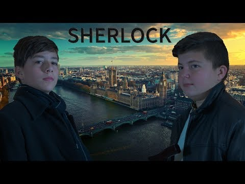 """Sherlock - A Study in Pink"" School Movie in 4k"