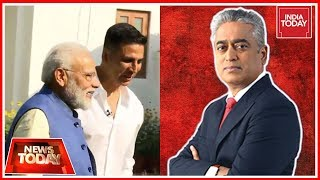 Is PM Modi Interiview By Akshay Kumar A Poll Stunt? | News Today With Rajdeep Sardesai