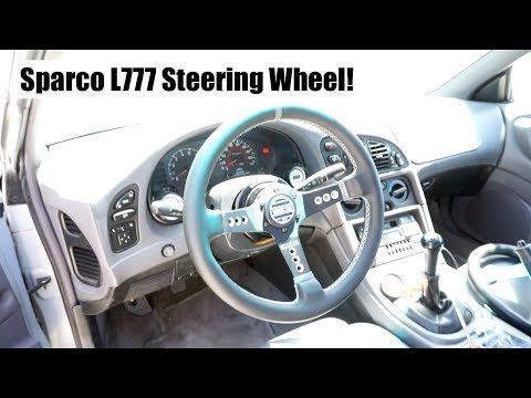 New Sparco L777 Steering Wheel