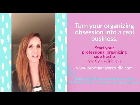 25 ways to market your home organizing business