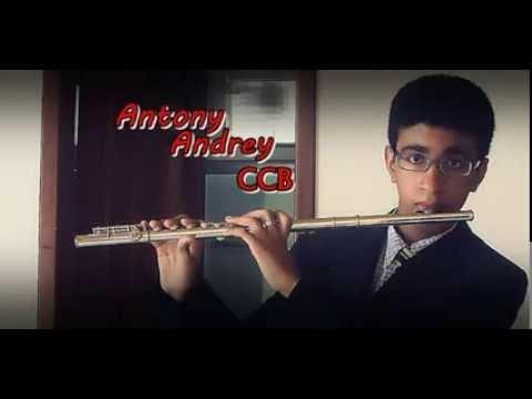 CCB HINO 248 - Glória Aleluia Sinto Jesus - Por Antony Andrey - Flauta Transversal