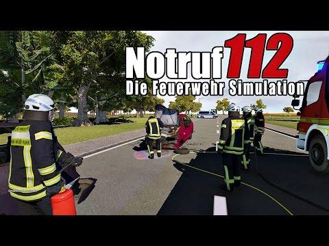 Notruf 112 Die Feuerwehr Simulation | Brennender PKW |