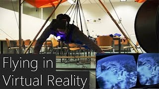 Flying in Virtual Reality - ZeroGravity - Hangglider Experience