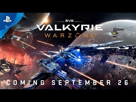 EVE: Valkyrie - Warzone - Announce Trailer | PS4, PS VR