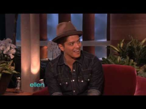 bruno mars loves ellen youtube. Black Bedroom Furniture Sets. Home Design Ideas