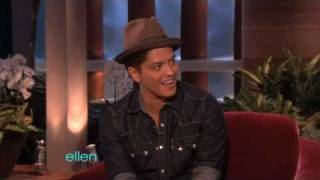Bruno Mars Loves Ellen