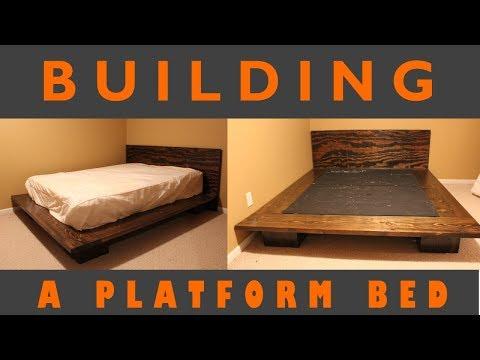 Platform Bed - Build Plans