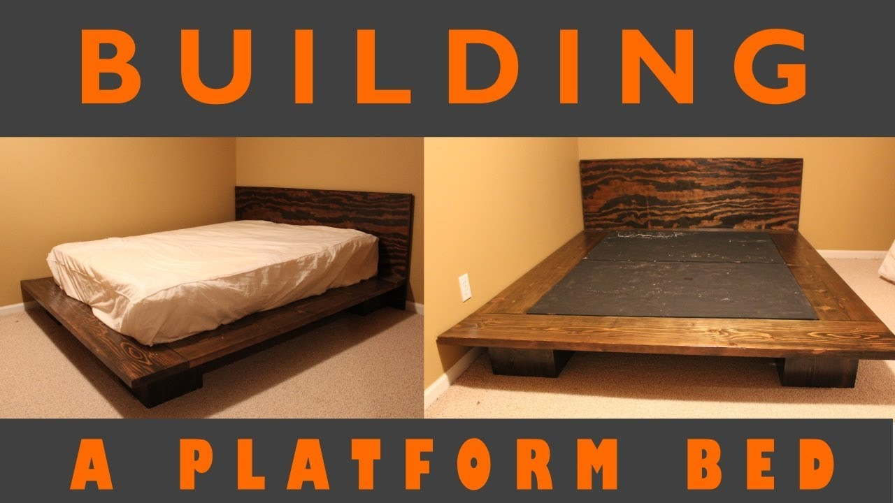 Platform Bed Build Plans You