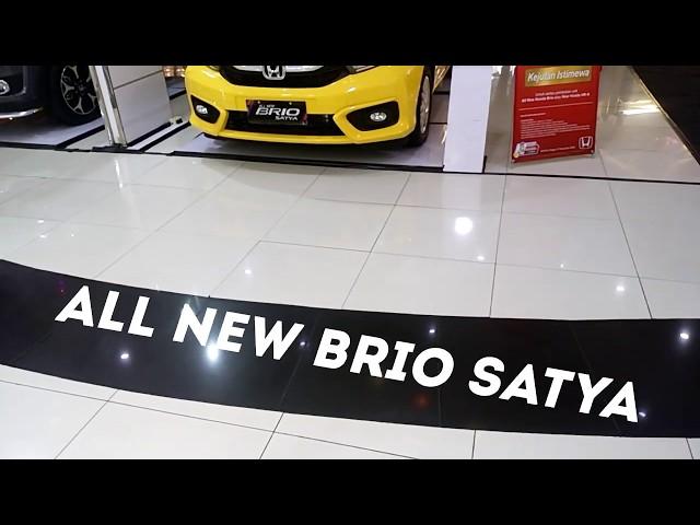 All New Brio E CVT 2018 Carnival Yellow- Harga  dan Eksterior Serta Interior