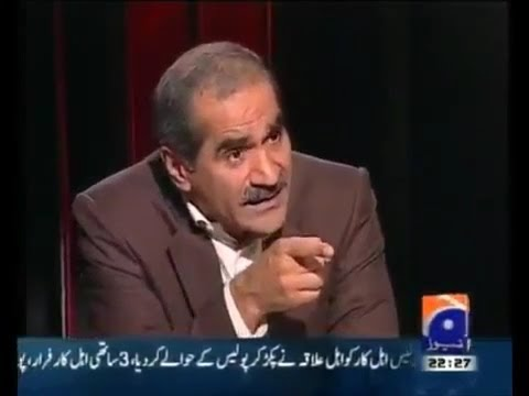Special Interview - Khawaja Saad Rafique in Jawab Deh by Iftikhar Ahmed 20 october 2013