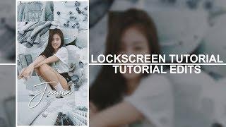 lockscreen edit picsart kpop wallpaper