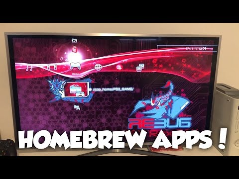 How To Install Homebrew CFW Applications On A Jailbreak PS3! (Multiman, Irisman, SEN Enabler)