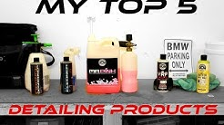 Top 5 Car Detailing Products (Chemical Guys - Exterior)