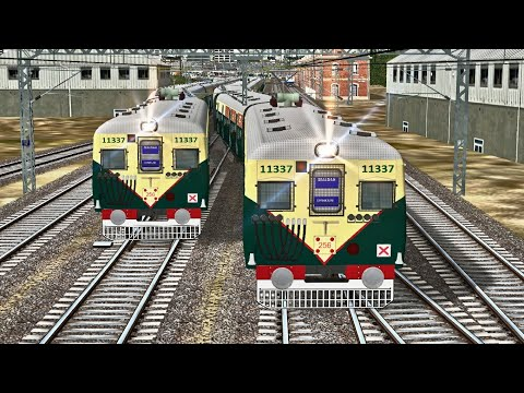 Sealdah - Dankuni EMU Local || Full Journey In MSTS Open Rails || RailIndia Route