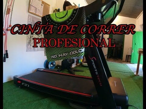 CINTA DE CORRER EN CASA - SPORTECH F 37 PROFESIONAL - MEJOR CINTA PARA CORRER
