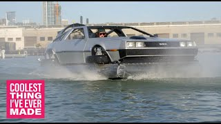 Delorean DMC-12 Hovercraft - COOLEST THING I'VE EVER MADE: EP1