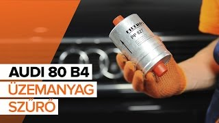 Hogyan cseréljünk Lengőkar AUDI 80 (8C, B4) - video útmutató