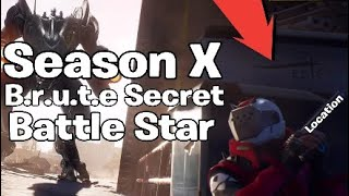 Fortnite Saison 10 Semaine 1 Secret Battle Star Location Guide