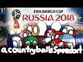 Knockout Phase! | FIFA WORLD CUP RUSSIA 2018 | Countryballs Speedart #27
