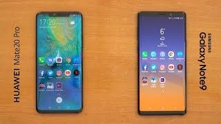 Hız Testi | Huawei Mate 20 Pro - Samsung Galaxy Note9