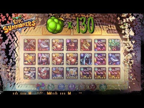 #30. Epic Summoners - 130 World Fruits, 33 new 5 stars, 10 star progress