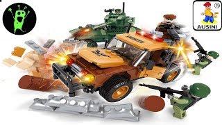 конструктор Ausini Army 22605 обзор