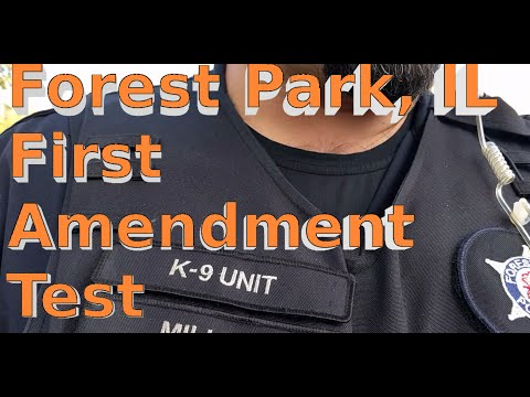 "Detained, Harassed, and Stalked for ""My Safety"" - Forest Park 1st Amendment Audit"