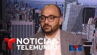 Triunfa parcialmente veto migratorio de Donald Trump | Noticiero | Noticias Telemundo