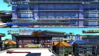 Sonic Generations: Split Screen Race (SA2 Style)