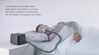 Feature Overview of the F&P SleepStyle Auto CPAP Machine - DirectHomeMedical